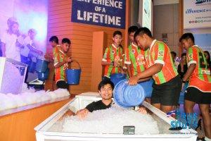 Ice Bath Challenge 12